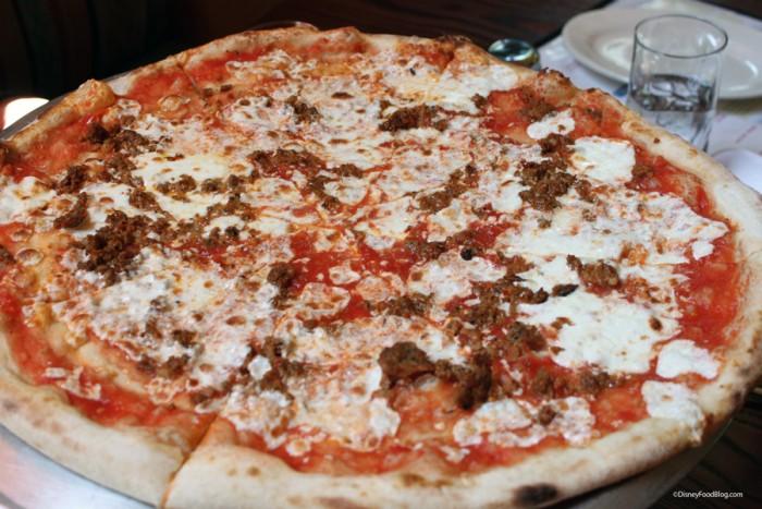 Pizza at Via Napoli