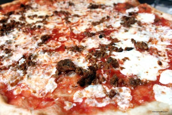Piccante Signature Pizza from Via Napoli