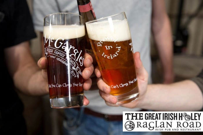 The Rye River Brewing Company Will Share Its Craft Beers at Raglan Road's Great Irish Hooley This Labor Day Weekend!  (©Rye River Brewing Company)