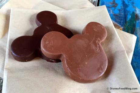 Solid Chocolate Mickeys