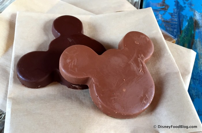 Solid Chocolate Mickeys from Zuri's Sweets Shop