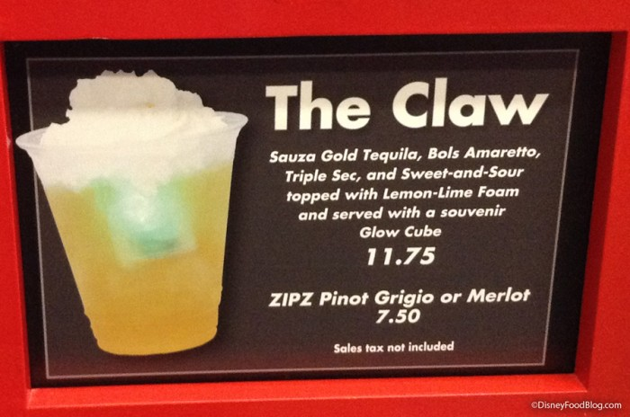 The Claw at Pizza Planet