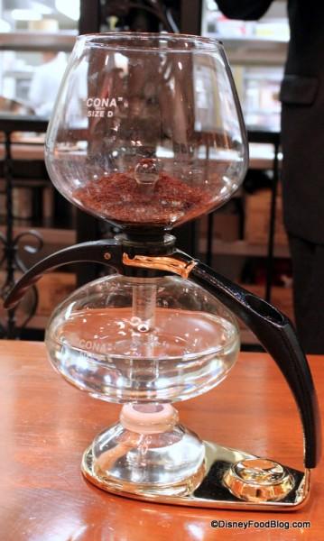 Vacuum Coffee Pot at Victoria and Albert's