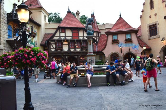 Germany Courtyard