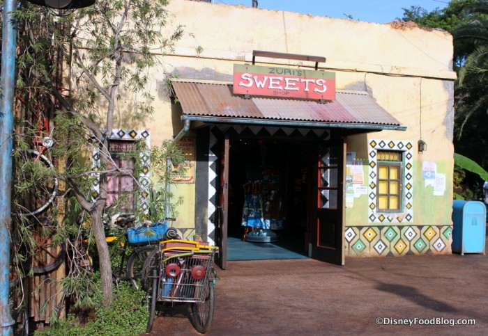 Zuris Sweets Shop -- Outside View
