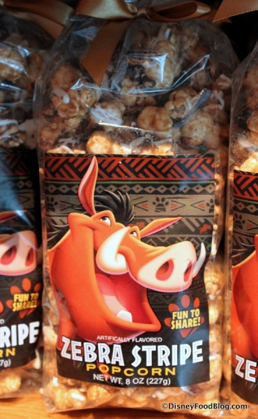 Zebra Stripe Popcorn