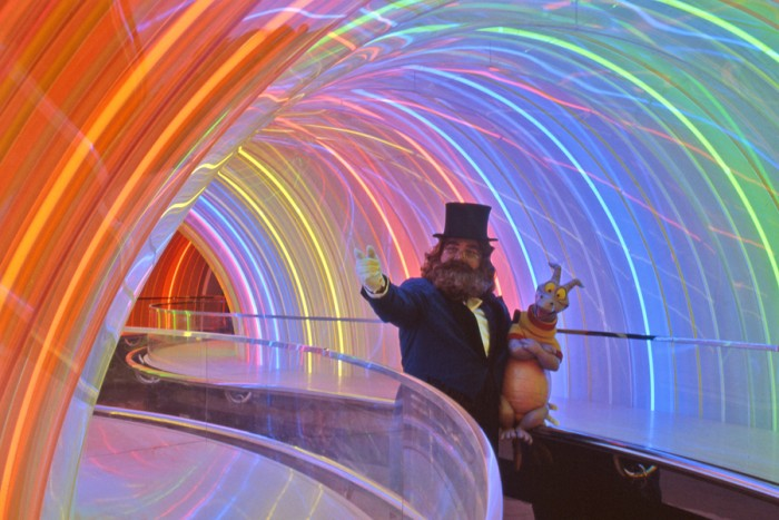 Rainbow Tunnel © Disney
