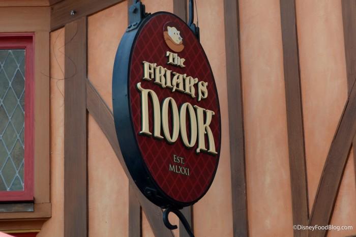 Friar's Nook Sign