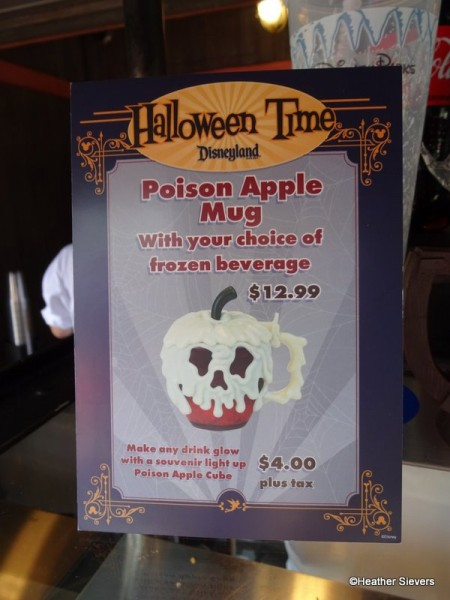 Poison Apple Mug Signage at Maurice's Treats