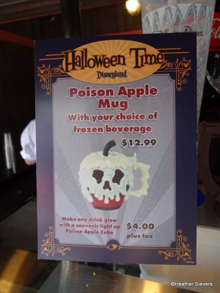 Poison Apple Mug Signage at Maurice's Treats