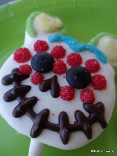Dia de los Muertos Mickey Cake Pop