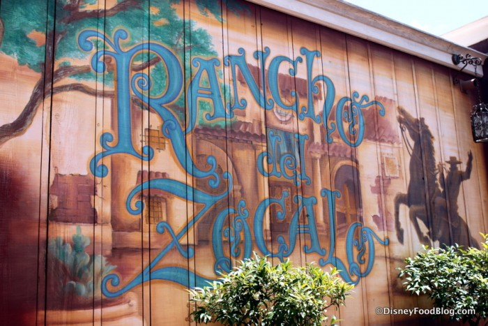 Rancho del Zocalo painted mural