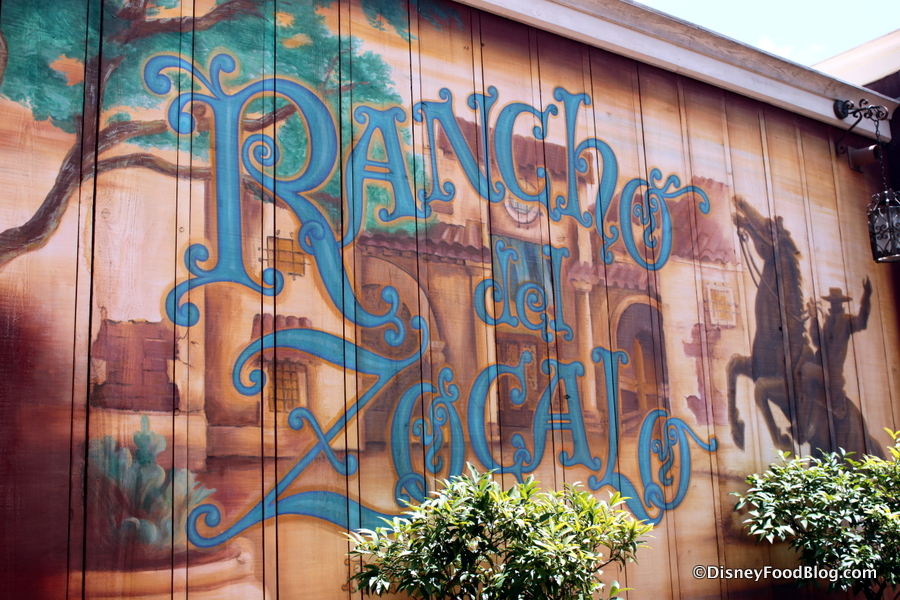 Review breakfast at rancho del zocalo in disneyland s for Disneyland mural