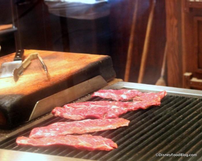 Carne Asada On The Grill