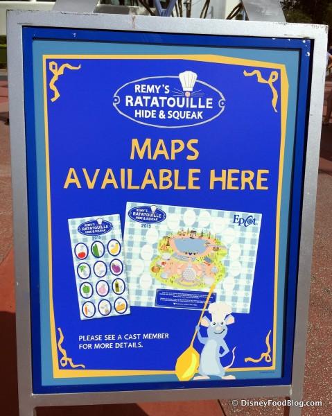 Remy Scavenger Hunt Maps