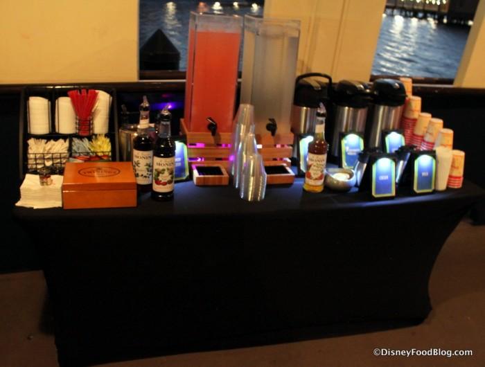 Beverage Table