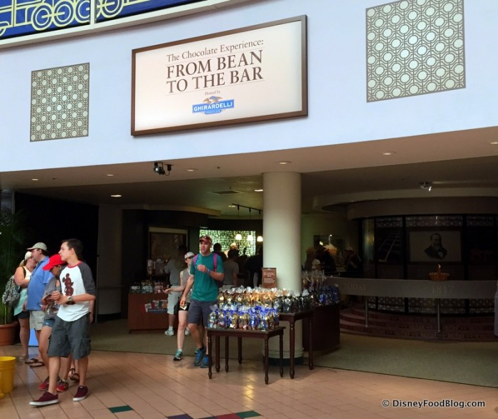 From Bean to Bar Exhibit