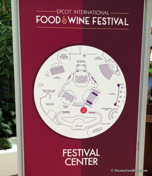 Festival Center Map
