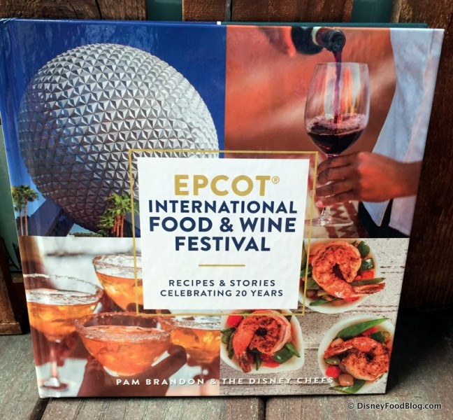 Food and Wine Festival Cookbook -- Front Cover