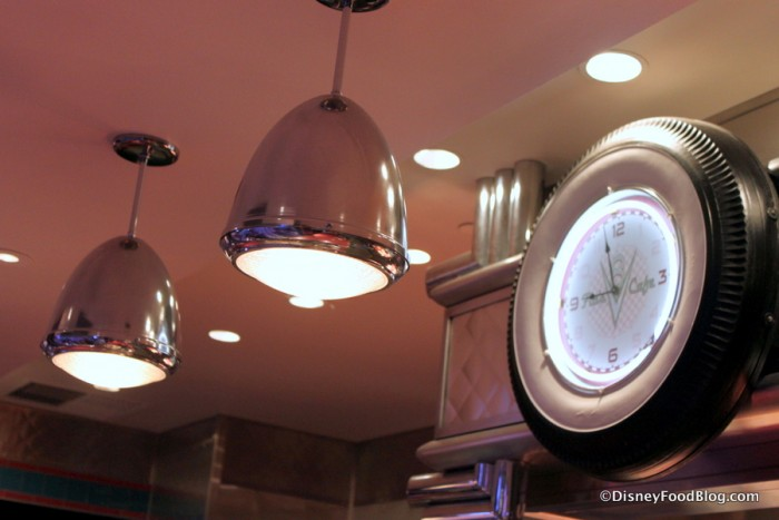 Flos V8 Cafe Lighting