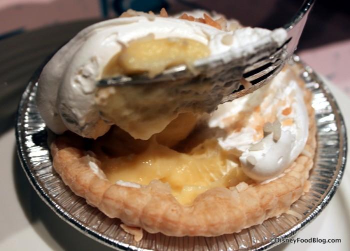 Coconut Cream Pie Inside