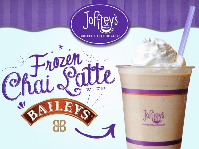 Frozen Chai Latte with Baileys