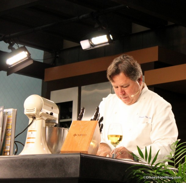 Chef Norman Van Aken Walking Us Through the Recipe