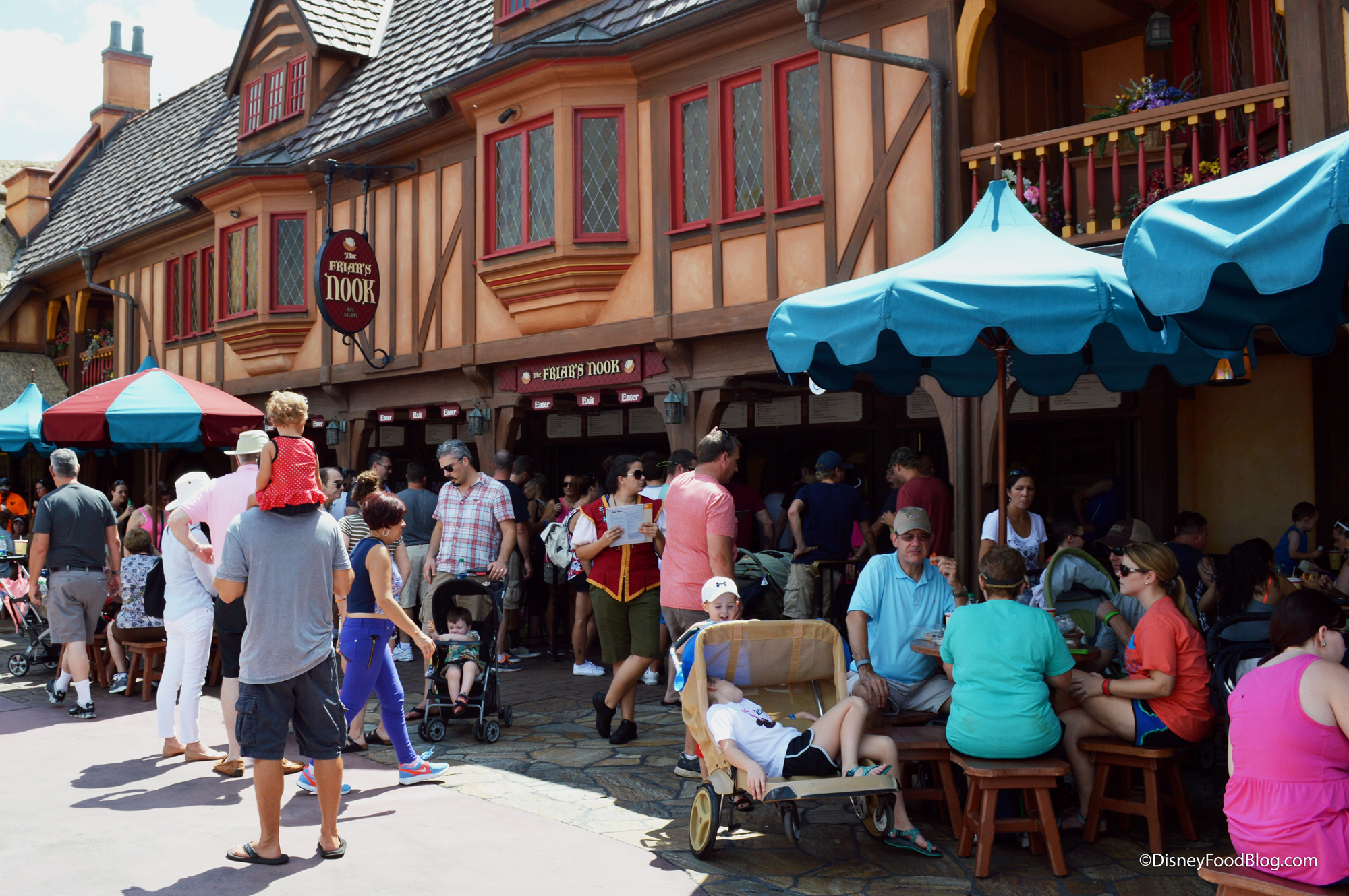 Image result for the friar's nook disney world