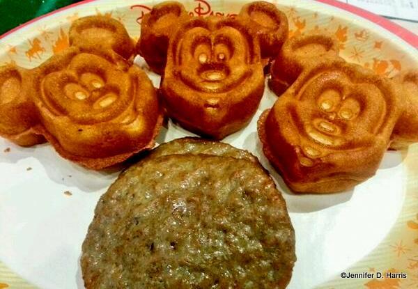 Gluten Free Mickey Waffles
