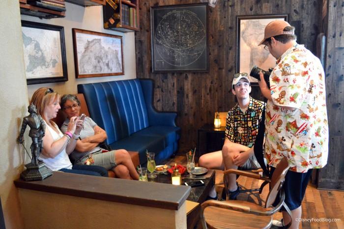 Jock Lindsey's Indoor Seating
