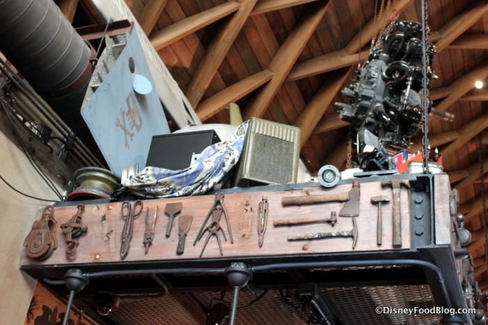 Jock Lindsey's Hangar Bar Decor