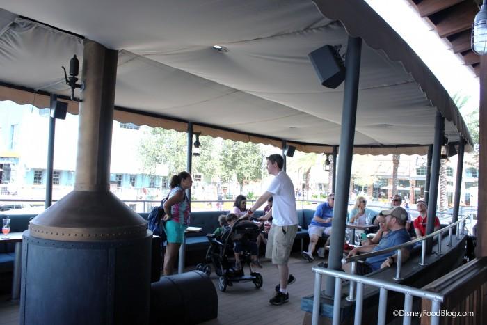 Jock Lindsey's Outdoor Seating