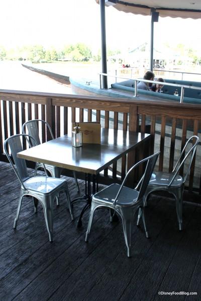 Jock Lindsey's Outdoor Table