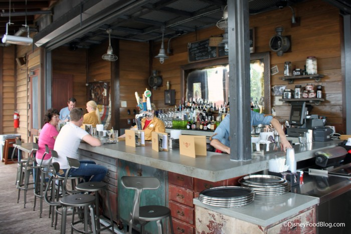 Jock Lindsey's Outdoor Bar