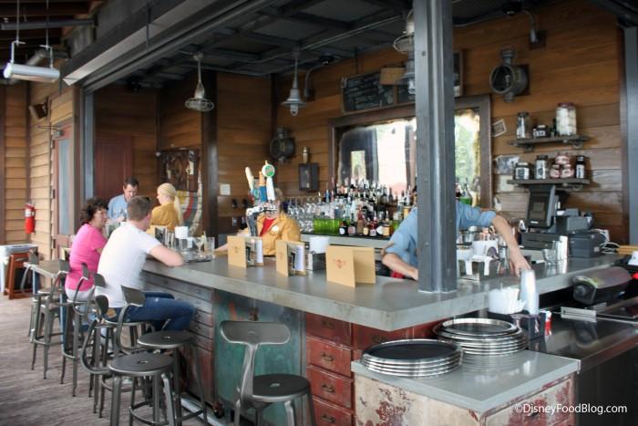 Jock Lindsey's Outdoor Bar