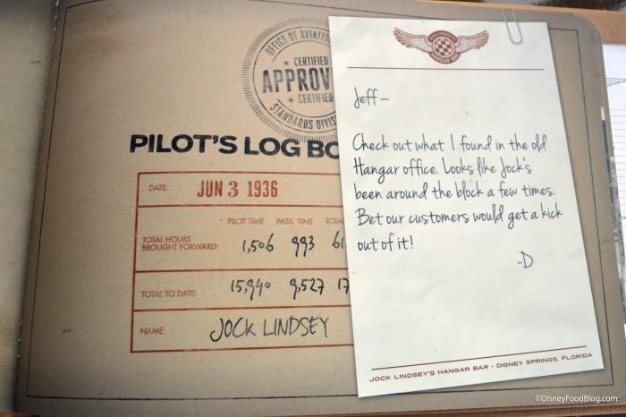 Pilot's Log Book