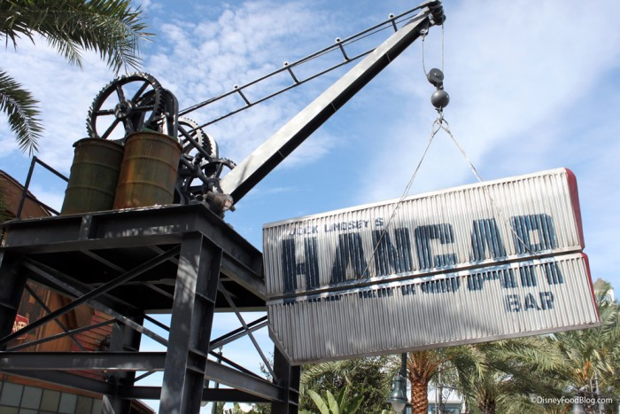 Jock Lindsey's Hangar Bar Sign