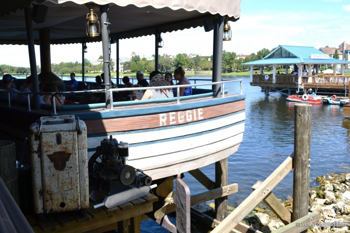 Reggie Boat Seating