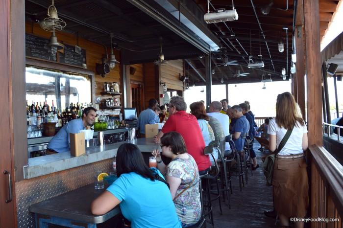 Jock Lindsay's Hangar Outdoor Bar