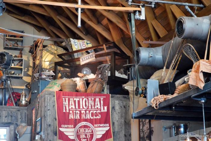 Jock Lindsay's Hangar Decor
