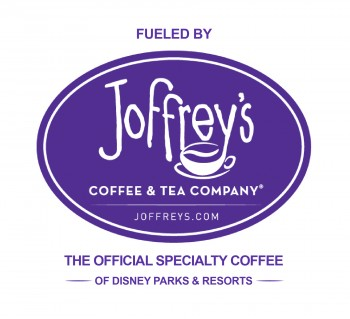 Joffrey's is the Official Specialty Coffee of Disney Parks & Resorts