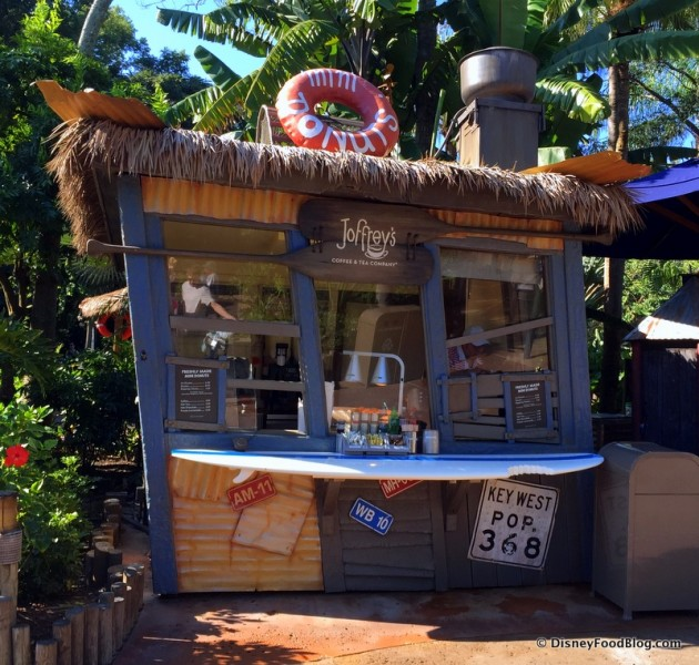 Joffrey's Kiosk Selling Freshly Made Donuts at Typhoon Lagoon