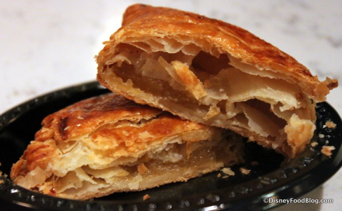 Apple Turnover -- Cross Section