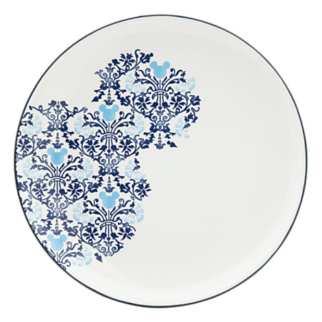 Mickey Mouse Icon Indigo Plate