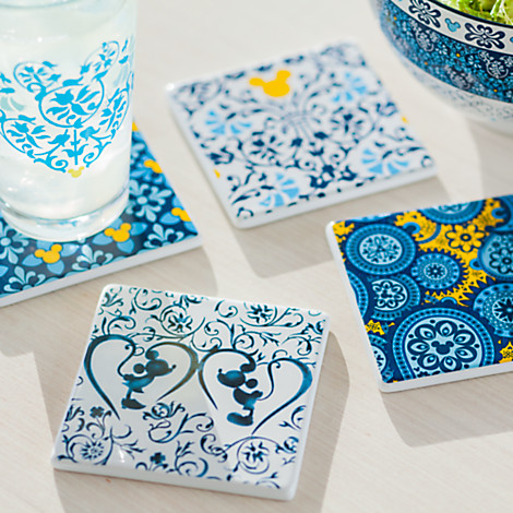All the Tiles in the Collection  sc 1 st  Disney Food Blog & New! Disney Introduces the Indigo Tableware Collection | the ...