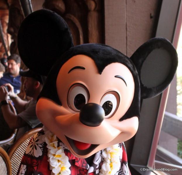 Mickey at 'Ohana