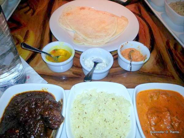 Naan Bread and more at Sanaa