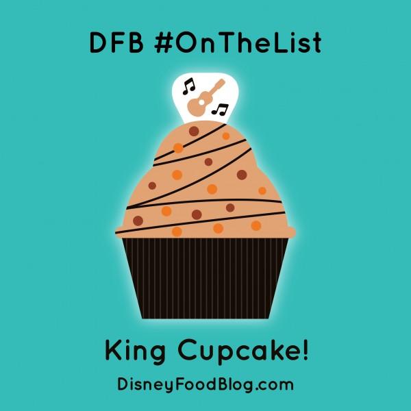 #OnTheList King Cupcake