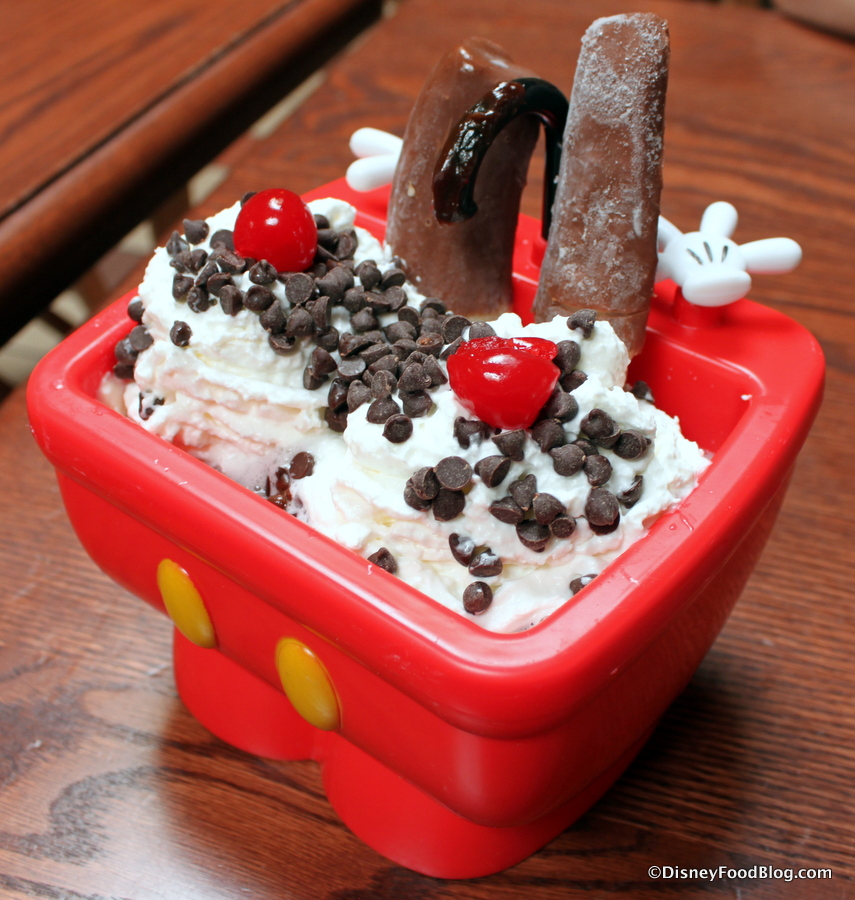 The Oswald Sundae In A Souvenir Kitchen Sink