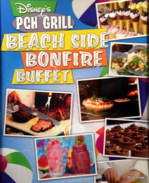 New Beach Side Bonfire Buffet